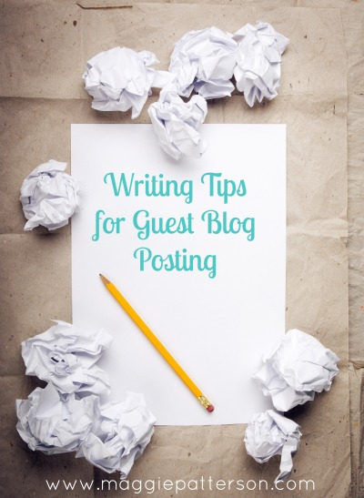 tips for writing a guest blog post
