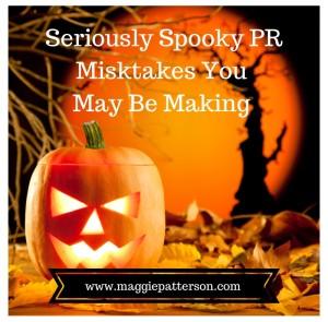 spooky PR mistakes