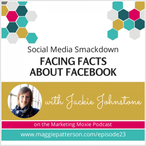 Episode #23 - Jackie Johnstone: Facing Facts About Facebook