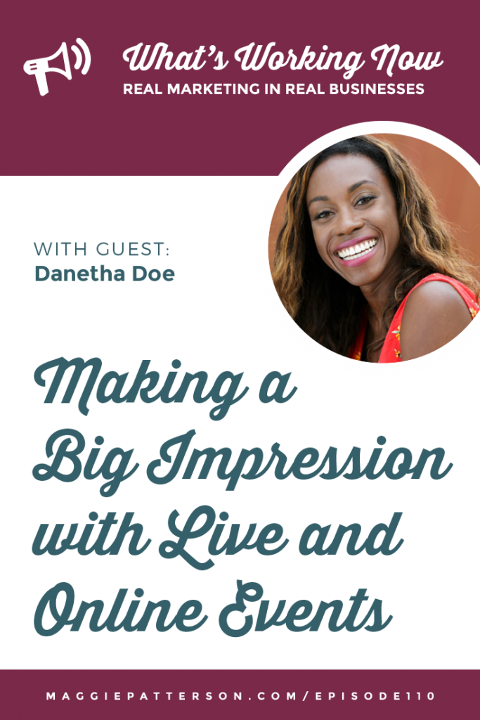 October Podcast Graphics Pinterest Danetha Doe