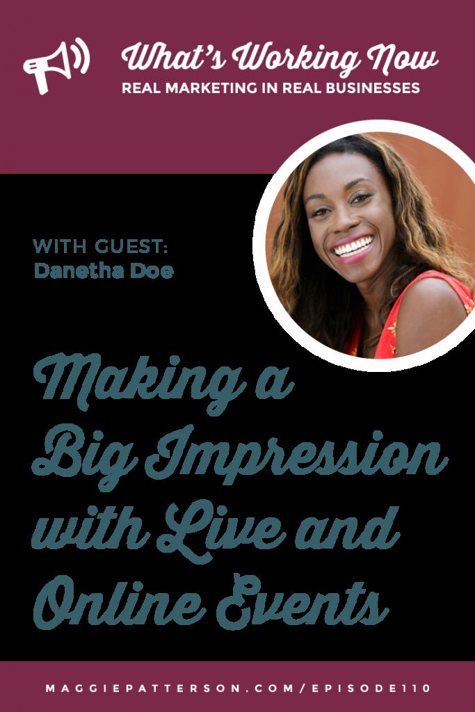 October Podcast Graphics Pinterest Danetha Doe