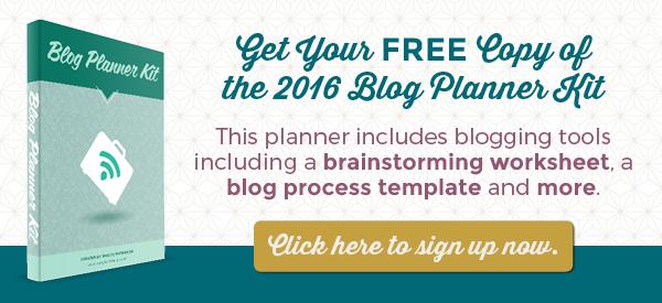 blog planner toolkit
